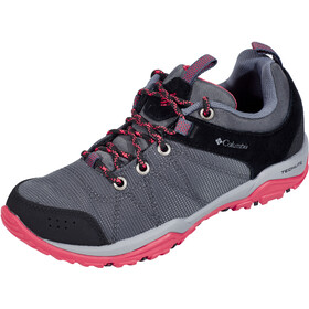 Columbia Fire Venture Textile Chaussures Femme, graphite/sunset red